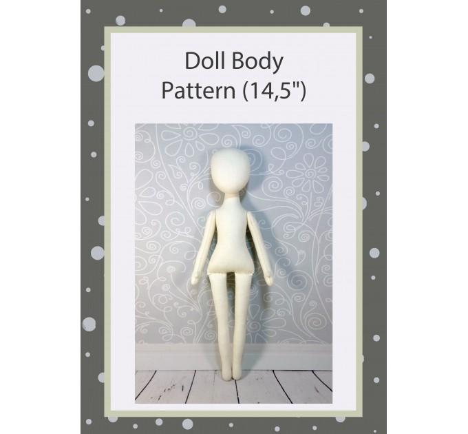 PDF Pattern Dolls Body 14,5 Inches #1