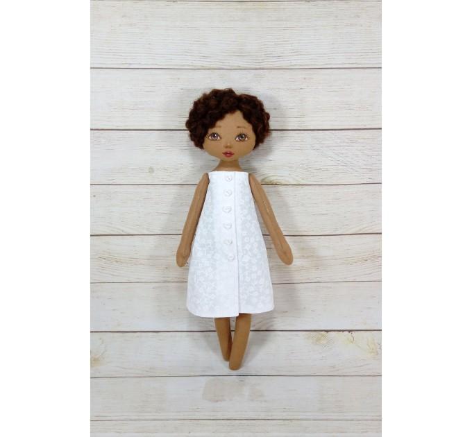 Handmade Black Nurse Doll  | Handmade Blac Rag Doll | Black Doll | nilasdolls.com (1)