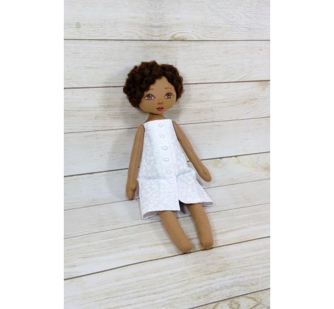Handmade Black Nurse Doll  | Handmade Blac Rag Doll | Black Doll | nilasdolls.com (3)