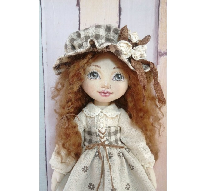 OOAK Cloth Doll  | Handmade Cloth Doll