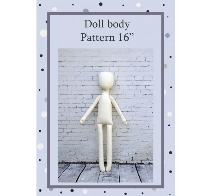 PDF Pattern Dolls Body 13 Inches #1