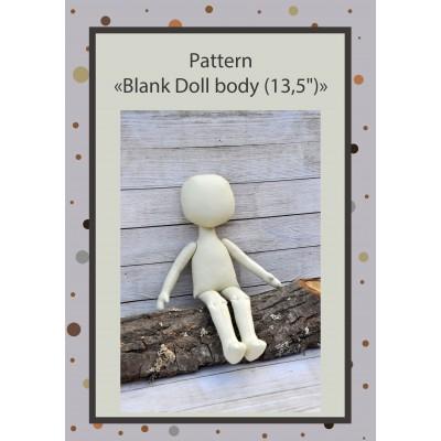 PDF Pattern Dolls Body 13 Inches #2