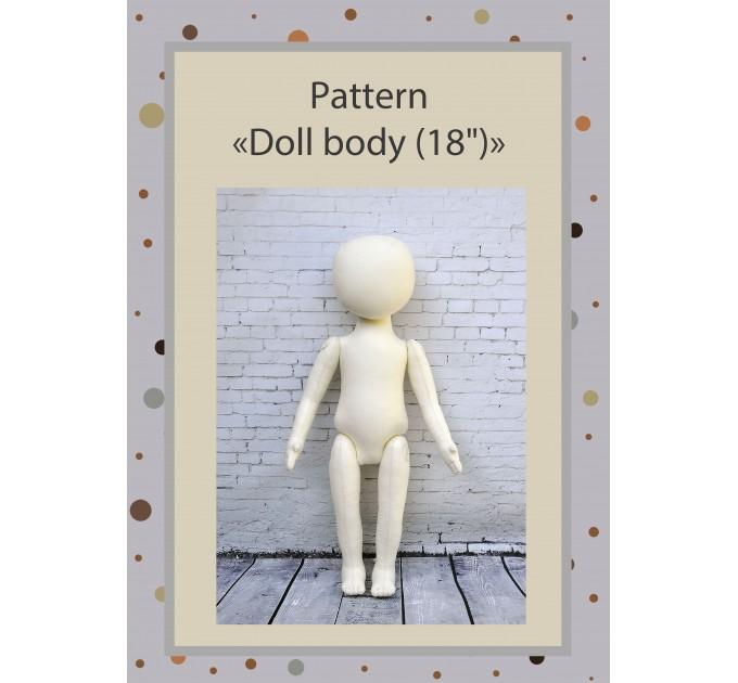 PDF Pattern Dolls Body 18 Inches #5