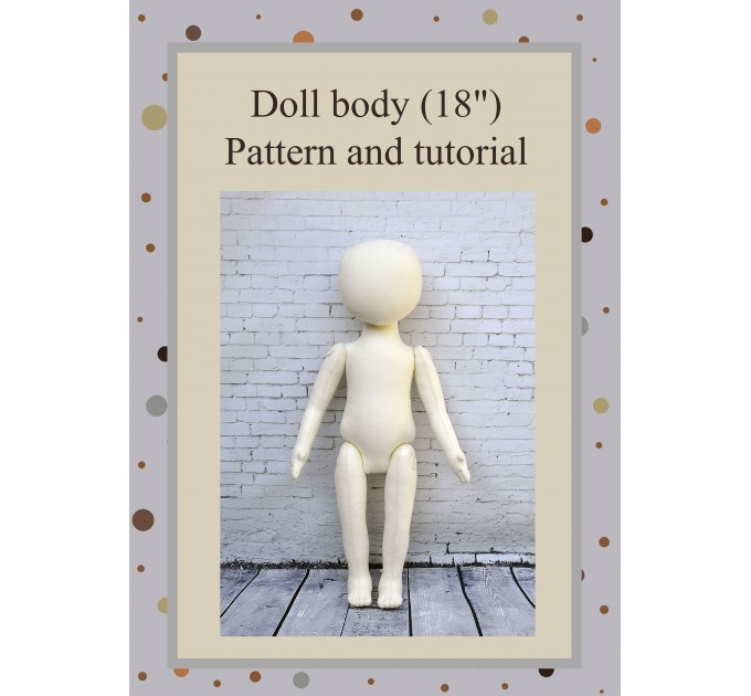 PDF Patterns And Tutorial Of The Rag Doll Body 18 Inches #1