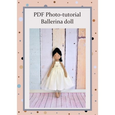 PDF Tutorial And Pattern Of The Ballerian Doll  With The Dress #1