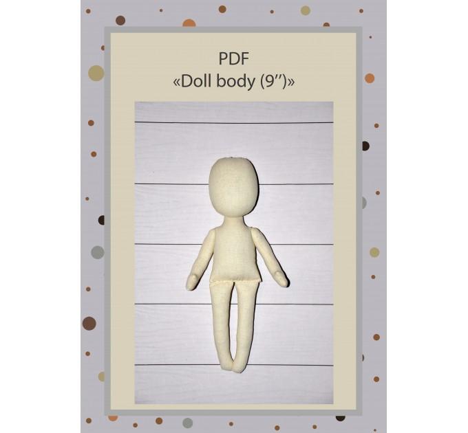 PDF Tutorial  Rag Doll Body 9 Inches #1