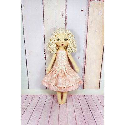 12 In Doll In Pink Dress