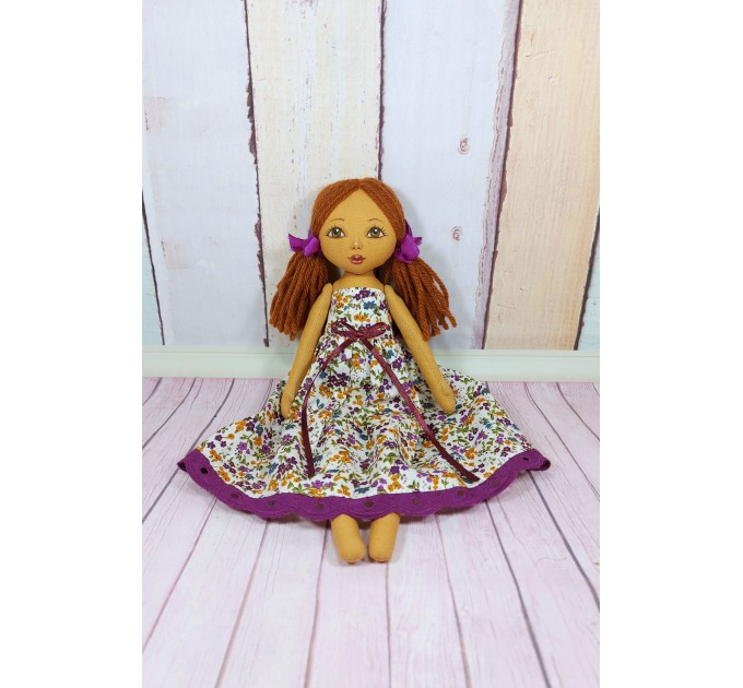 12 In Liitle Cloth Doll