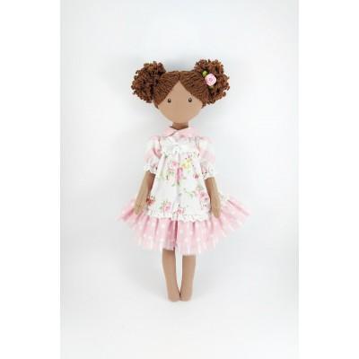 15 Inches Cloth Doll Im A Pink Dress