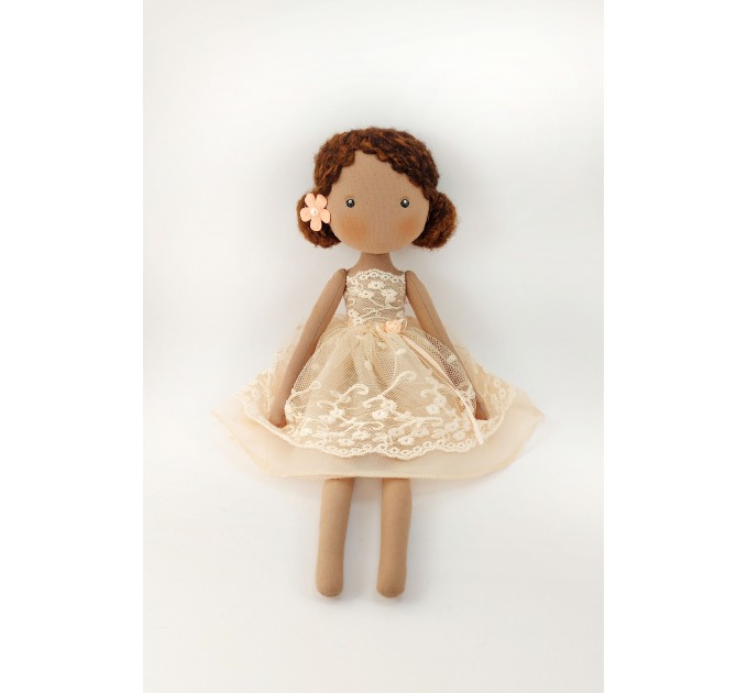 16 In Decorative Brown Doll