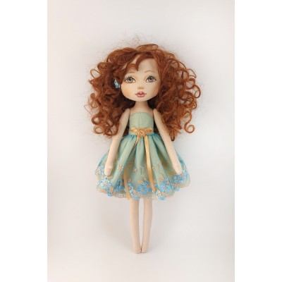 16 In Princess Doll In A Blue Dress