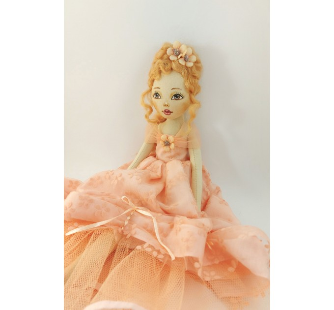 18 In Decorative Handmade Doll