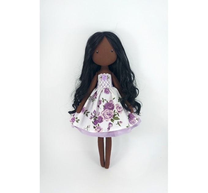 African Вoll 16 In Doll In A Removable Dress