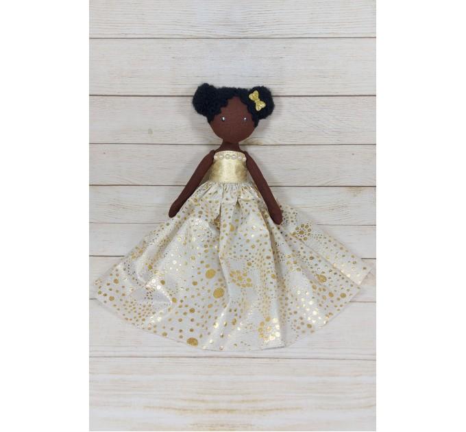 Black Cloth Fairy Doll
