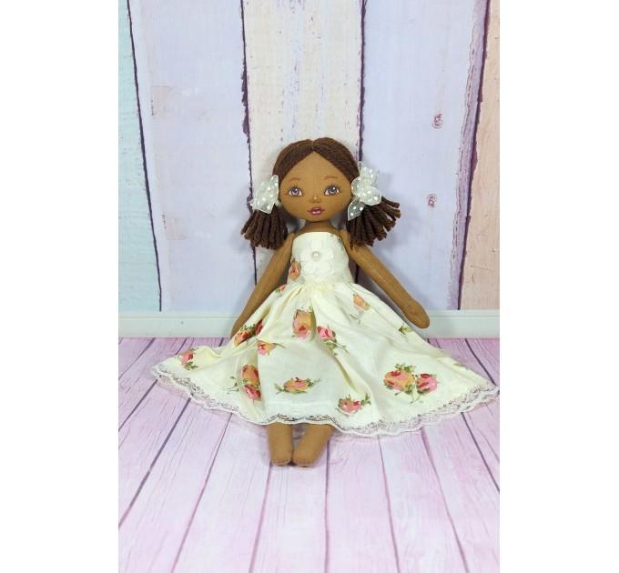 Handmade African Doll | Handmade Cloth Doll