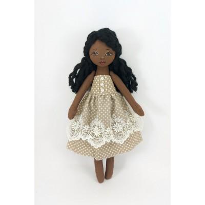 Black Rag Doll 13 Inches