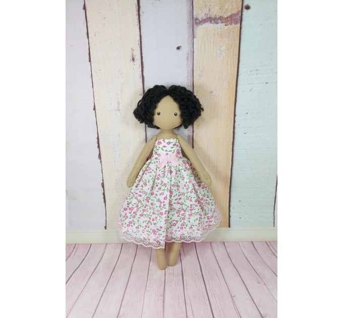 Handmade Brown Cloth Doll