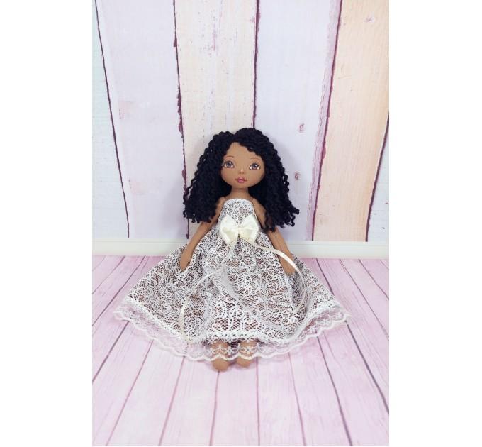 Handmade Brown Cloth Doll | Cloth Doll