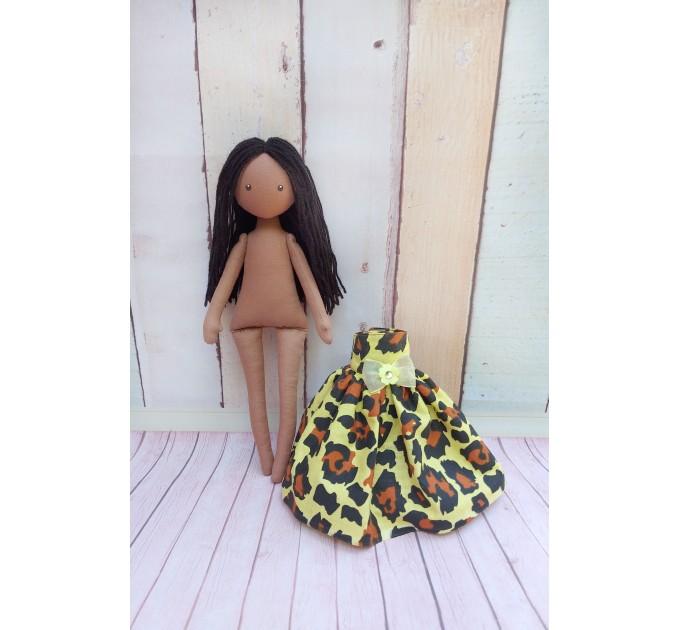 Handmade Brown Doll | Handmade Cloth Doll