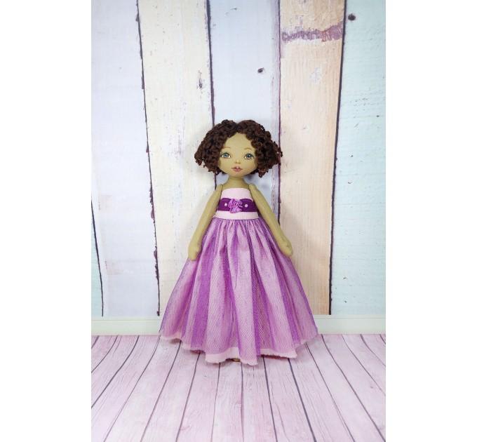Handmade Black Nurse Doll  | Handmade Black Rag Doll