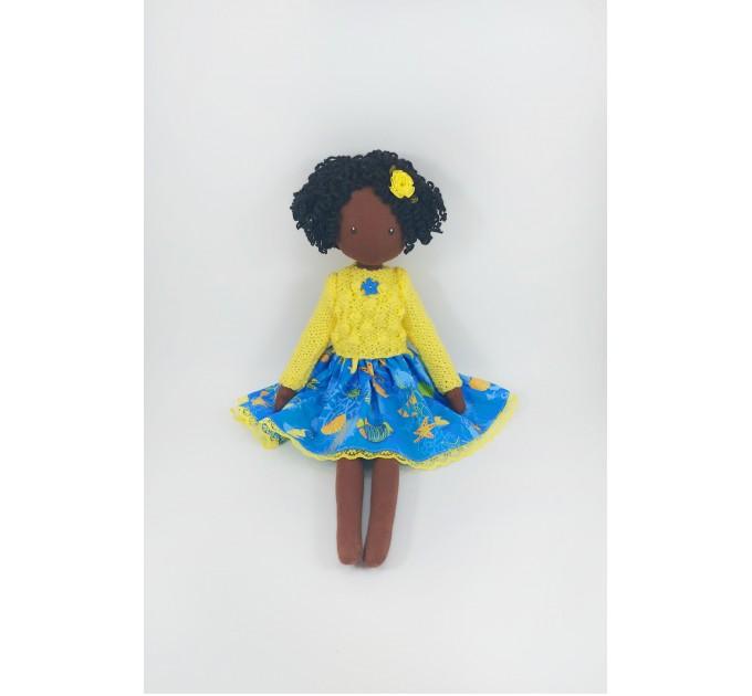 Handmade Brown Decorative Rag Doll