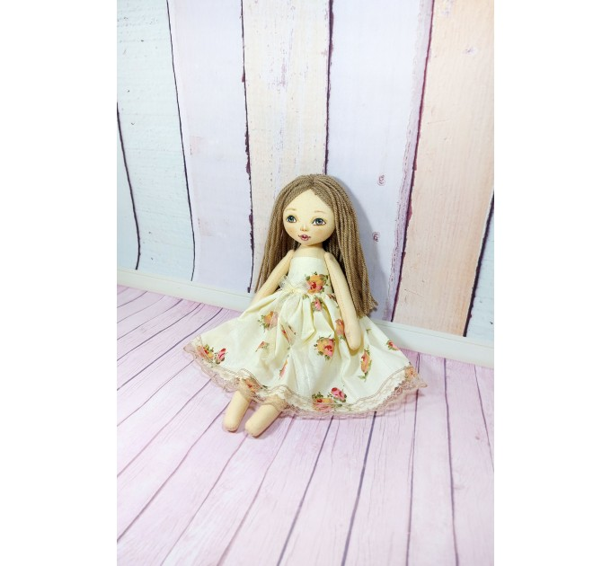Handmade Little Cloth Doll