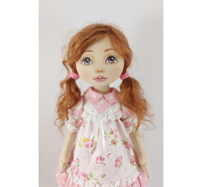 Handmade OOAK 15 In Cloth Doll