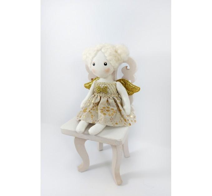 Little Rag Doll Angel   Miniature Elf