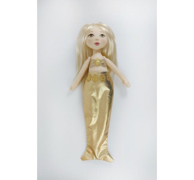 Little Rag Doll In A Detachable Mermaid Costume