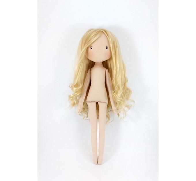 Princess Doll In A Golden Dress