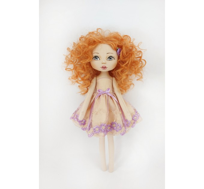 Red Hair Cloth Doll 16 Inches