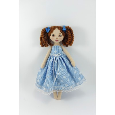 Small Rag Doll With Removable Clothes