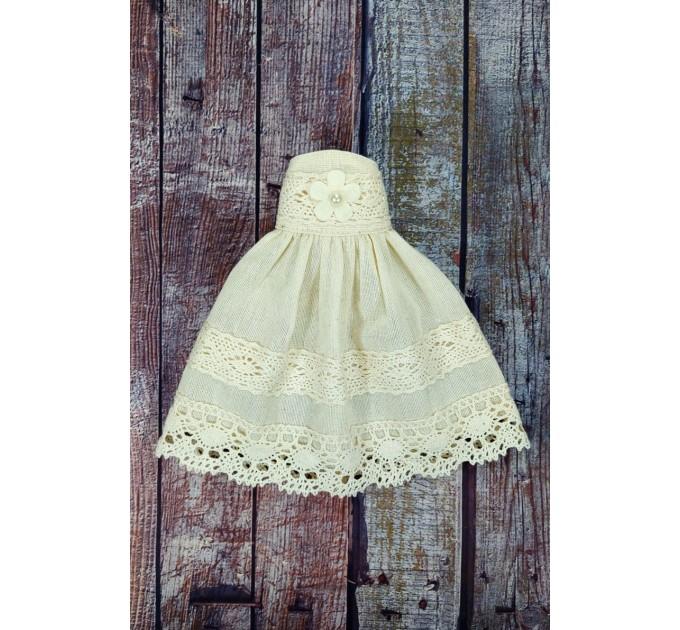 White Little Rag Princess Doll