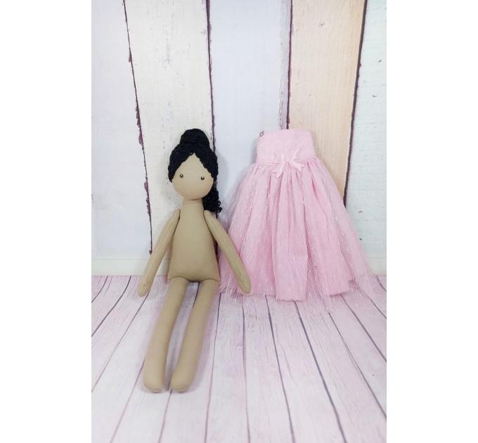 13 Inches Handmade Brown Ballerina Doll