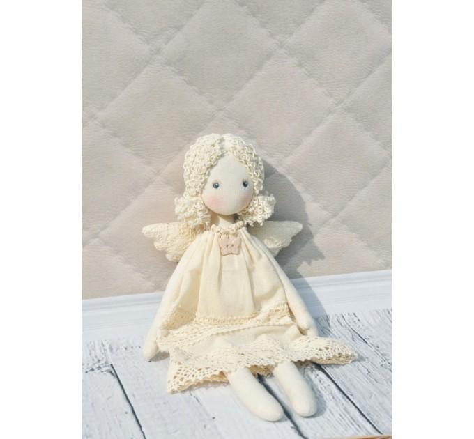 Handmade Rag Angel Doll   Handmade Cloth Doll
