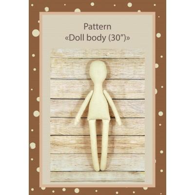 PDF Pattern Dolls Body 30 Inches