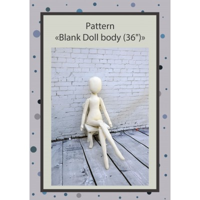 PDF Pattern Dolls Body 36 Inches