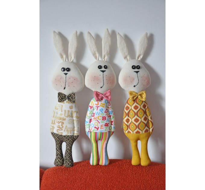 PDF Rabbit Toy Pattern And Tutorial