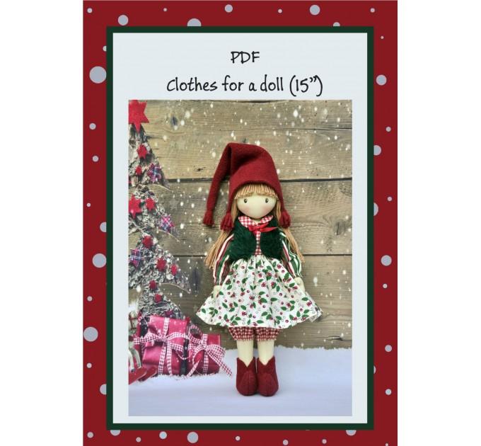 PDF Tutorial Clothes For Christmas Gnome