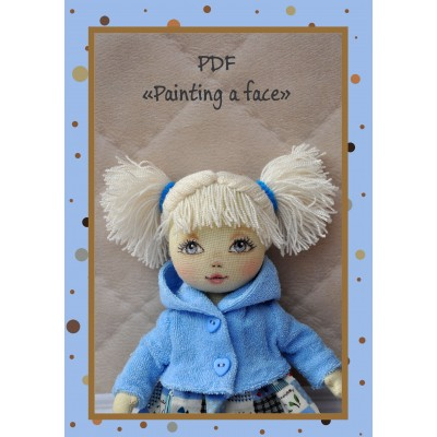 PDF Tutorial Face Painting Cloth Doll
