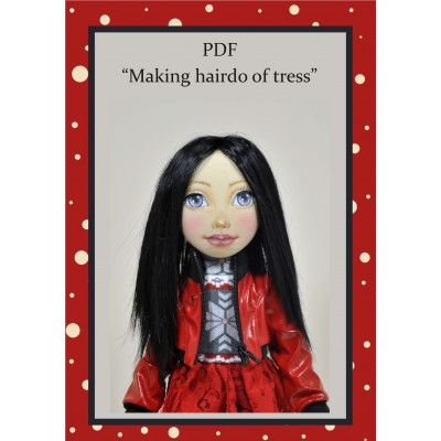 PDF Tutorial Hairstyle For Dolls