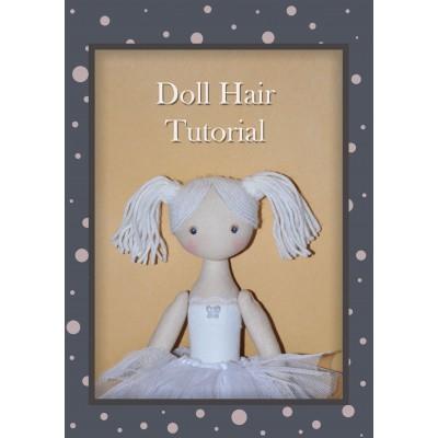 PDF Tutorial Hairstyle For Dolls, Hair Yarn