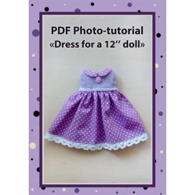 Pattern Sewing Dresses For Dolls  Sewing Tutorial.
