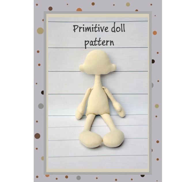 Primitive Doll Patterns