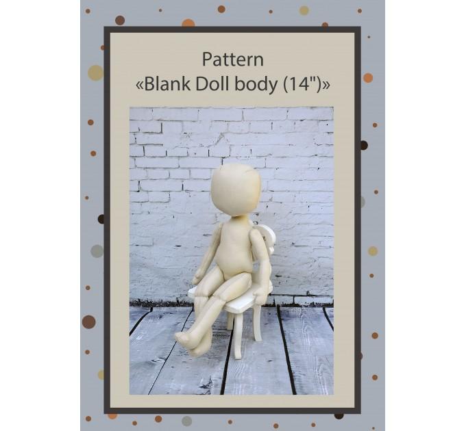 PDF Pattern Dolls Body 14 Inches #2