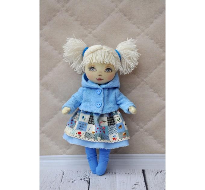Blank doll body 9 Inches
