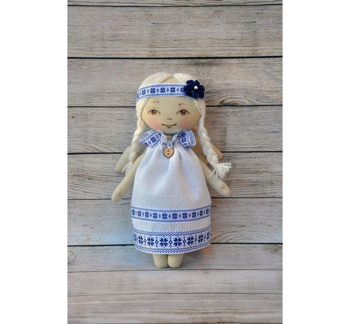 3 Blank doll body-9 Inches #1