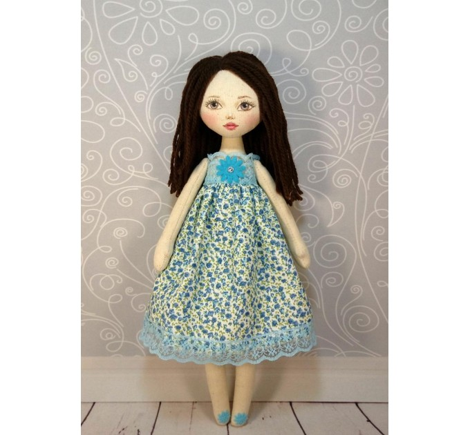 Rag Doll Body 12 Inches With Painting Face #1