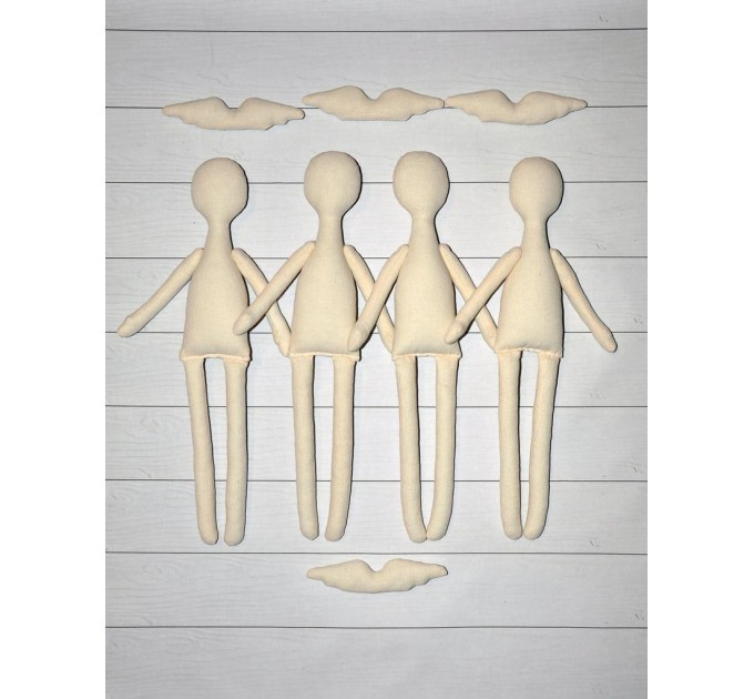 12 Blank doll body-14 #1