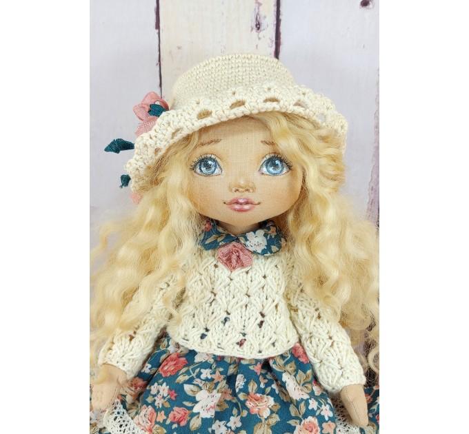 OOAK Handmade Cloth Doll  | nilasdolls.com